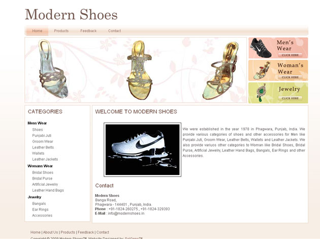 Modren Shoes